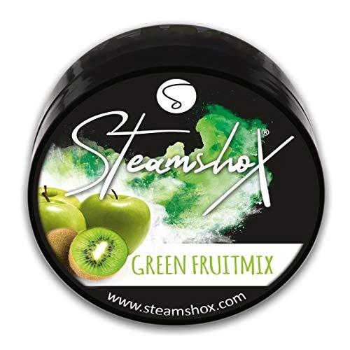 SteamshoX® Green Fruitmix Dampfsteine 70 g - Shisha Steam Stones - nikotinfreier Tabakersatz für Wasserpfeifen