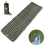 Unigear Ultralight Inflatable Sleeping Pad, Compact Air Camping Mat,Lightweight Camping Mattress for...