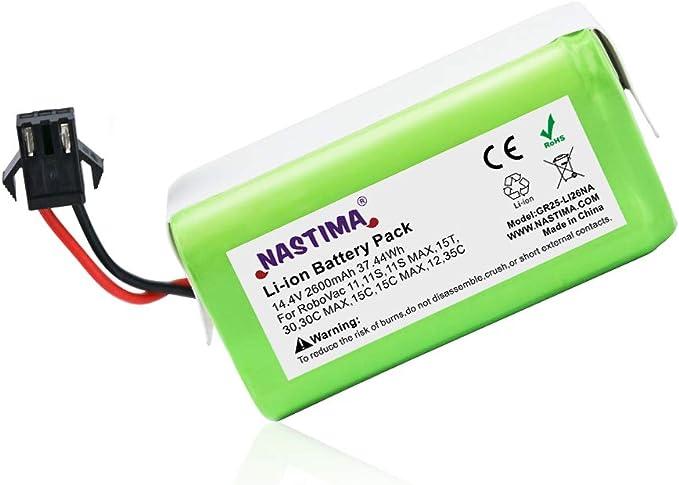 457 opinioni per NASTIMA 14,4V 2600mAh Batteria di Ricambio Agli ioni di Litio Compatibile con