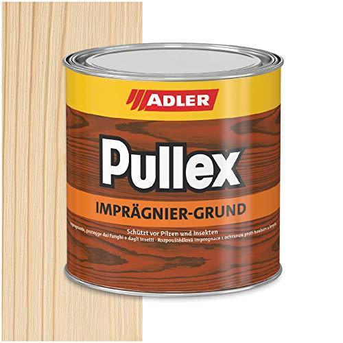 ADLER Pullex Imprägnier-Grund farblos - 750 ml - Imprägnierung Grundierung für Holz außen, lösemittelbasierter Holzschutz