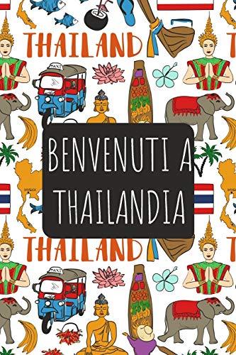 Benvenuti a Thailandia: 6x9 Diario di viaggio I Taccuino con liste di controllo da compilare I Un regalo perfetto per il tuo viaggio in Thailandia e per ogni viaggiatore