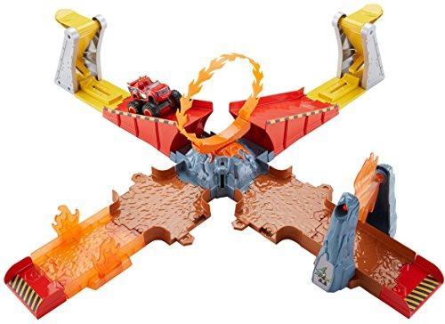 Fisher-Price Nickelodeon Blaze & The Monster Machines Flaming Volcano Jump Playset