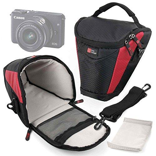 DURAGADGET Borsa Protettiva per Fotocamere Sony DSC-HX400V   DSC-HX60V   Stoga CGT001   Stoga Dfun C3   Vivitar Vivicam F126 - con Tracolla Regolabile + Maniglia