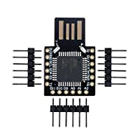 Aideepen Beetle BadUSBキーボードプロマイクロATMEGA32U4モジュール Mini開発拡張ボードArduinoレオナルドR3用