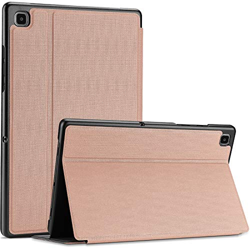 ProCase for Samsung Galaxy Tab A7 10.4' 2020 Case (SM-T500/ T505/ T507), Shockproof Lightweight Slim Protective Book Case Folio Cover -Rosegold