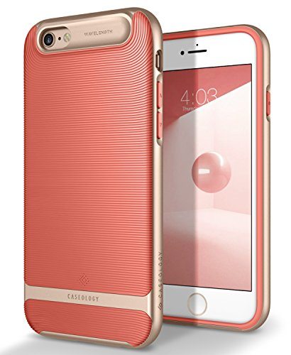 Caseology Wavelength for Apple iPhone 6S Case (2015) / for iPhone 6 Case (2014) - Coral Pink