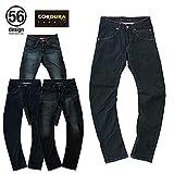 x EDWIN 056 Rider Jeans CORDURA 56ライダージーンズ コーデュラメンズ レディース デニムパンツ ライディングパンツ L Green Stitch/Damage Washed