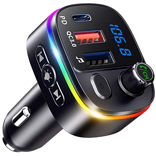 Bovon Bluetooth Adapter Auto mit 2021...