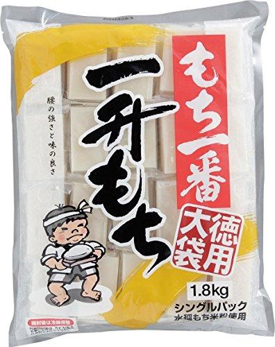 もち一番一升もち 徳用大袋(シングルパック) 1.8kg