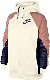 Sportswear Womens Color Block Full-Zip Hoodie Rust Pink/Sail AR6215-133