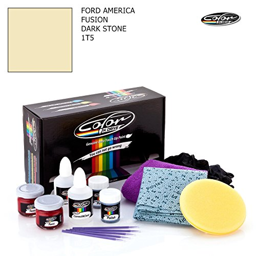 FORD AMERICA FUSION / DARK STONE - 1T5 / COLOR N DRIVE AUSBESSERUNGSLACK SET FÜR KRATZER UND STEINSCHLAGSPUREN AN IHREM AUTO / PRO PACK