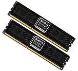OCZ Technology DDR3 PC3-12800 1600MHz Ready CL8 Dual Channel Memory Kit OCZ3BE1600C8LV4GK (Black Edition)