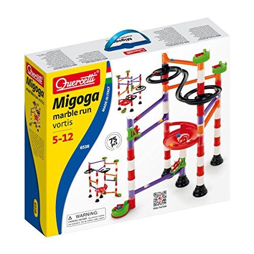 Quercetti 6538 Migoga Marble Run Vortis - Tobogán para canicas (80 piezas) , color/modelo surtido
