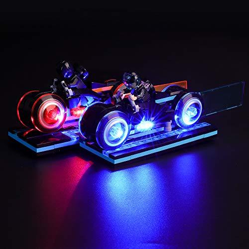 BRIKSMAX Kit de Iluminación Led para Lego Ideas Tron Legacy, Compatible con Ladrillos de Construcción Lego Modelo 21314, Juego de Legos no Incluido