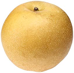 Organic Brown Asian Pear, One Large
