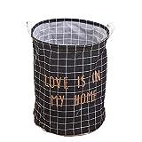 YHSM Redondo Varios Barril de Almacenamiento Plegable Ropa Tela Sucia Ropa Cesta Caja de colección casera