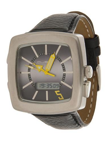 Custo Watches CU020902 - Reloj de Señora Cuarzo Piel Negro