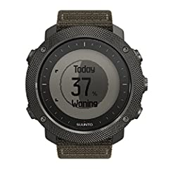 Features a rugged, knurled stainless steel bezel, durable water repellent nylon strap, and a premium scratch resistant sapphire crystal glass Suunto's automatic shot detection technology keeps track of when and where you shoot, mapping the GPS coordi...