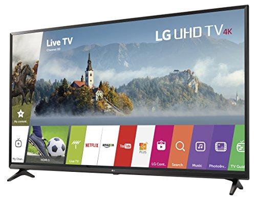 LG Electronics 55UJ6300 55-Inch 4K Ultra HD Smart LED TV (2017 Model)