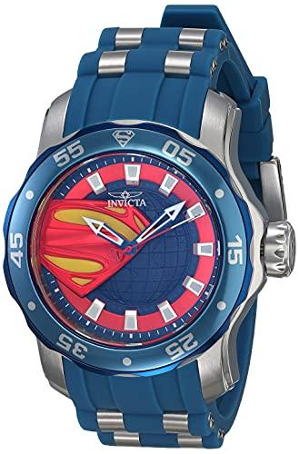 Invicta DC Comics Superman Quartz Men's Watch 34745