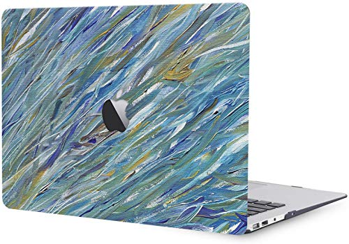 Plastic Hard Shell Case Compatible with MacBook Pro 15 inch/15.4 inch with Retina Display 2015 2014 2013 2012 Release A1398 - Green Paiting