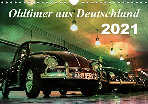 Oldtimer aus Deutschland (Wandkalender 2021 DIN A4 quer)