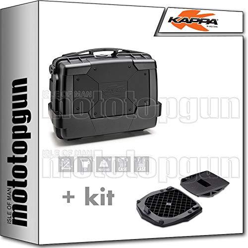 kappa maleta kgr33n garda 33 lt + parrilla monokey compatible con benelli...