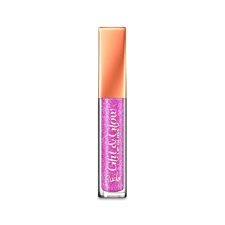 ラフレシアアルノルディ反対におなかがすいた(3 Pack) RUDE Glit & Glow Lip Gloss - Tease Me (並行輸入品)