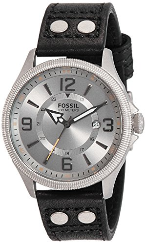 Fossil Recruiter Analog Grey Dial Men's Watch - FS4937