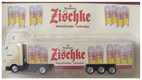 Königsbacher Nr.09 - Zischke Naturfrisches Kellerbier - ohne Schriftzug auf Fahrertür - MB Actros - Sattelzug