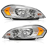 Best Headlights - AUTOSAVER88 Headlight Assembly Compatible with 2006-2013 Chevy Impala Review