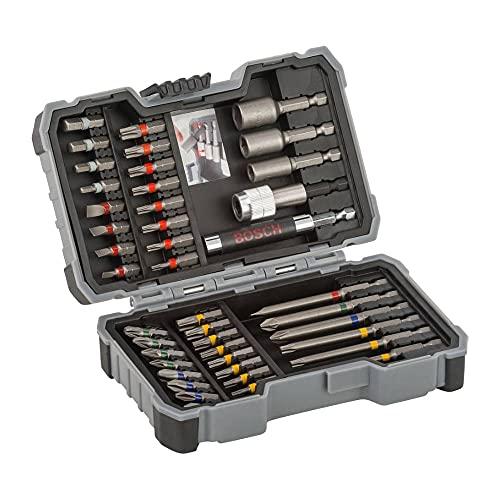 Bosch Professional Set da 43 Pezzi di bit avvitamento, accessorio trapano avvitatore