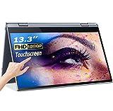 Monitor portatile 13,3'', Eviciv Monitor Full-HD USB-C 1080P con Porta HDMI/Type-C Altoparlanti Incorporati Monitor per PC, Laptop, Cellulare, Raspberry Pi, PS4, Xbox Games ecc (Touch Screen)
