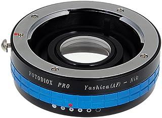 Fotodiox Pro Lens Mount Adapter Compatible with Yashica 230 AF Lenses on Nikon F Mount Cameras