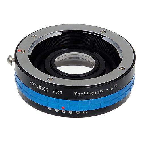 Fotodiox Pro Lens Mount Adapter - Yashica 230AF (YAF, Y230AF) Lens naar Nikon SLR/DSLR Camera met diafragma Control Dial en glazen elementen voor Focus Correctie, past Nikon D7100, D7000, D5200, D5100, D3100, D300, D300S, D200, D60, D800, D800e, D4, D3, D2, D1