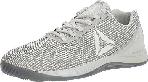 Reebok Herren Crossfit Nano 7.0 Crosstrainer-Schuh, Totenkopf grau/weiß/schwarz, 38.5 EU thumbnail