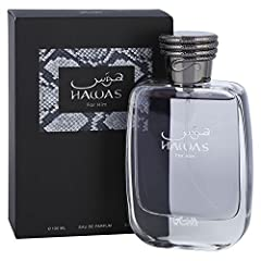 ABOUT HAWAS: Blends cinnamon, bergamot, orange blossom, grey amber & sandalwood to create an aquatic scent designed to embody masculine strength and vigor. The fragrance captures the adventurous & evocative spirit of the modern man. The contemporary ...