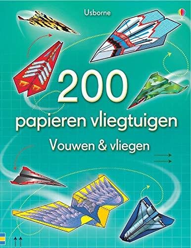 200 Papieren vliegtuigen-vouwen en vliegen