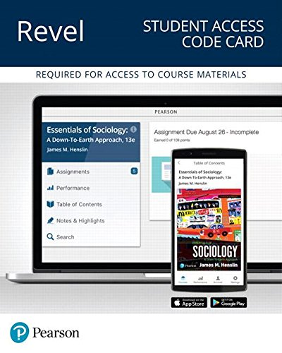 Revel for Essentials of Sociology: A Down-To-Earth Approach -- Access Card (What's New in Sociology)