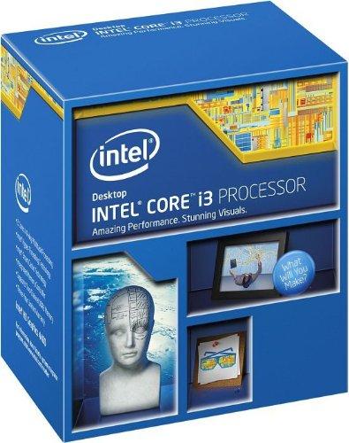 Intel Core i3 4340 - Procesador (Socket 1150, Dual-Core, 3.6 GHz, 4 MB Cache)