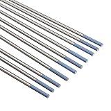 Schweißzubehör 10pcs Wolfram WL20 2,0% Lanthanated Blue Tip WIG-Elektrode 1 / 16inch x 7inch