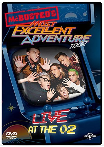 McBusted Most Excellent Adventure Tour - Live At The O2 [DVD] [2015]