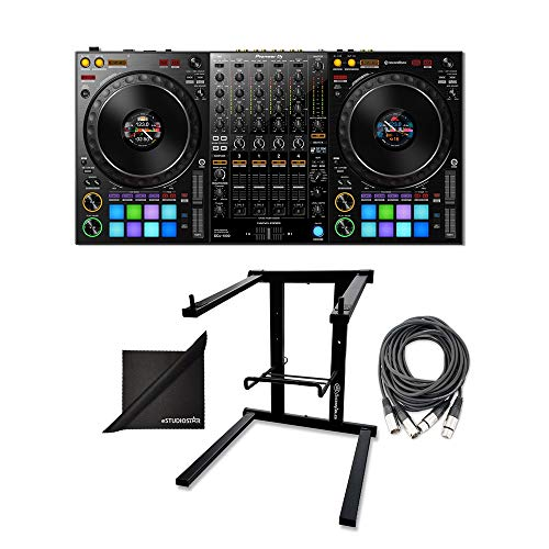 Why Choose Pioneer DDJ-1000 Professional DJ Controller w/AxcessAbles DJLTS-01 Foldable Laptop Stand,...