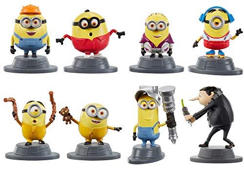 Coleção Minions Micro - Mattel - APENAS 1 (UM) BONECO, NÃO É POSSÍVEL ESCOLHER O PERSONAGEM