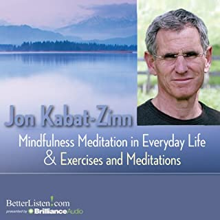 Mindfulness Meditations in Everyday Life and Exercises and Meditations audiobook cover art