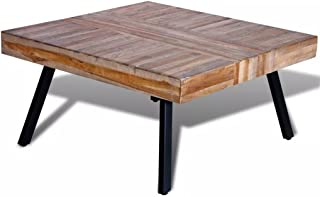Amazon Fr Table Basse Teck