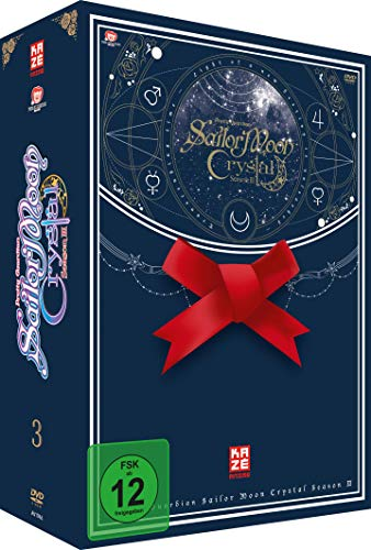 Sailor Moon Crystal - Staffel 3 - Vol.1 - Box 5 - [DVD] mit Sammelschuber [Alemania]