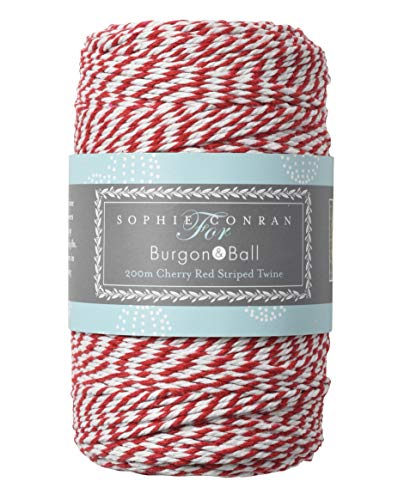 200m Red And White Twine - Use As Bakers Twine