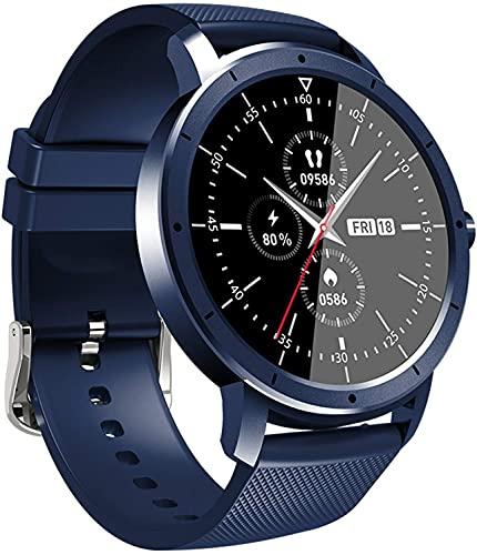 NCHEOI SmartWatch HW21 Smart Watch Unisex, IP67 Monitor de Movimiento de suspensión Impermeable, Información Push Alarm Reloj, Control de cámara Control de música (Color : Blue)