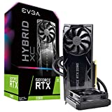 EVGA GeForce RTX 2080 XC Hybrid Gaming, 8GB GDDR6, HYBRID & RGB LED Graphics Card 08G-P4-2184-KR
